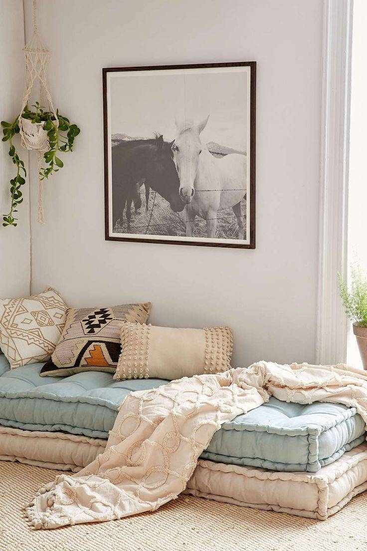27 Best Bed Linen Images On Pinterest | Bed Linens, Bedding And throughout Floor Couch Cushions (Image 1 of 30)