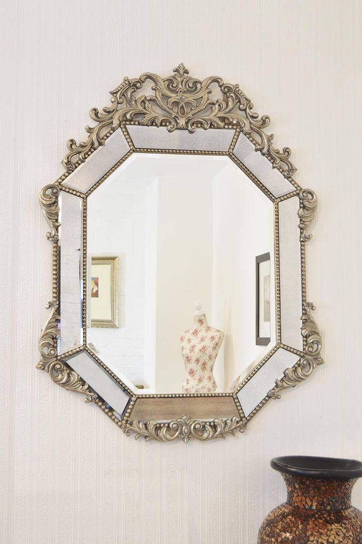 27 Best Decorative Mirrors Images On Pinterest | Decorative Regarding Silver Ornate Wall Mirrors (View 2 of 25)