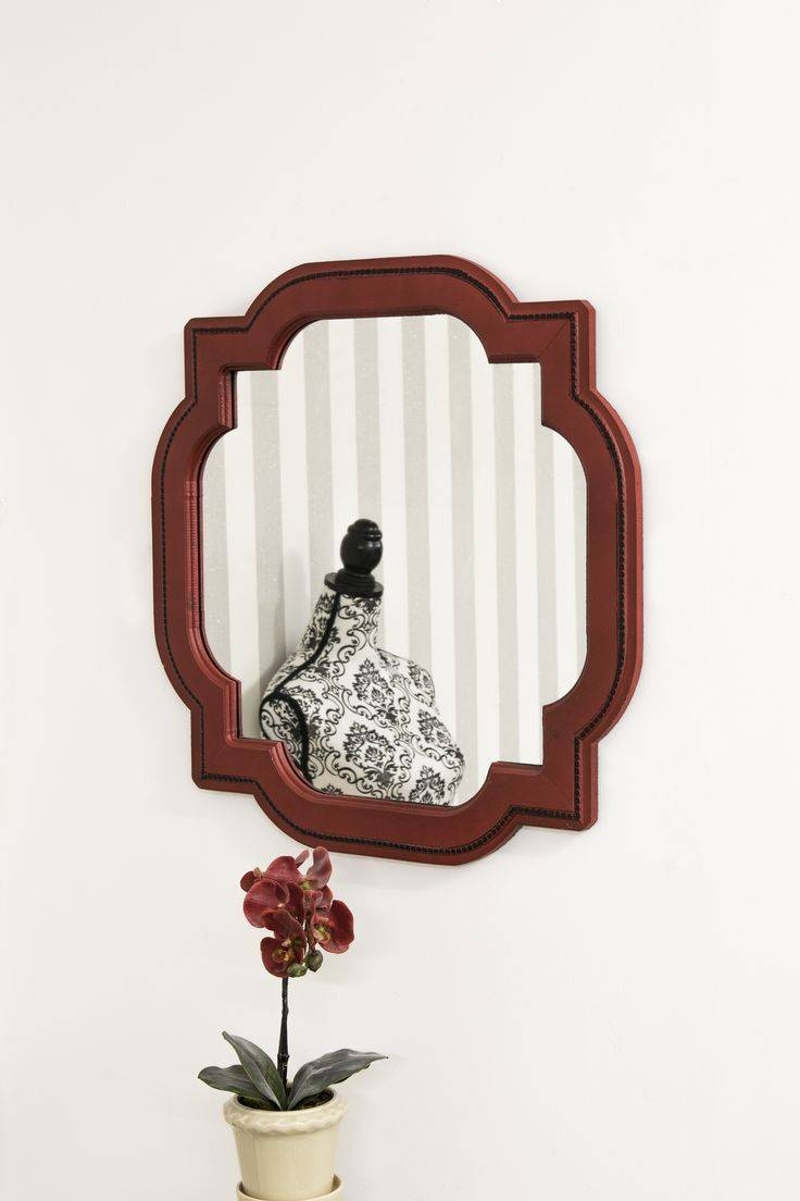 27 Best Decorative Mirrors Images On Pinterest | Decorative within Red Mirrors (Image 4 of 25)