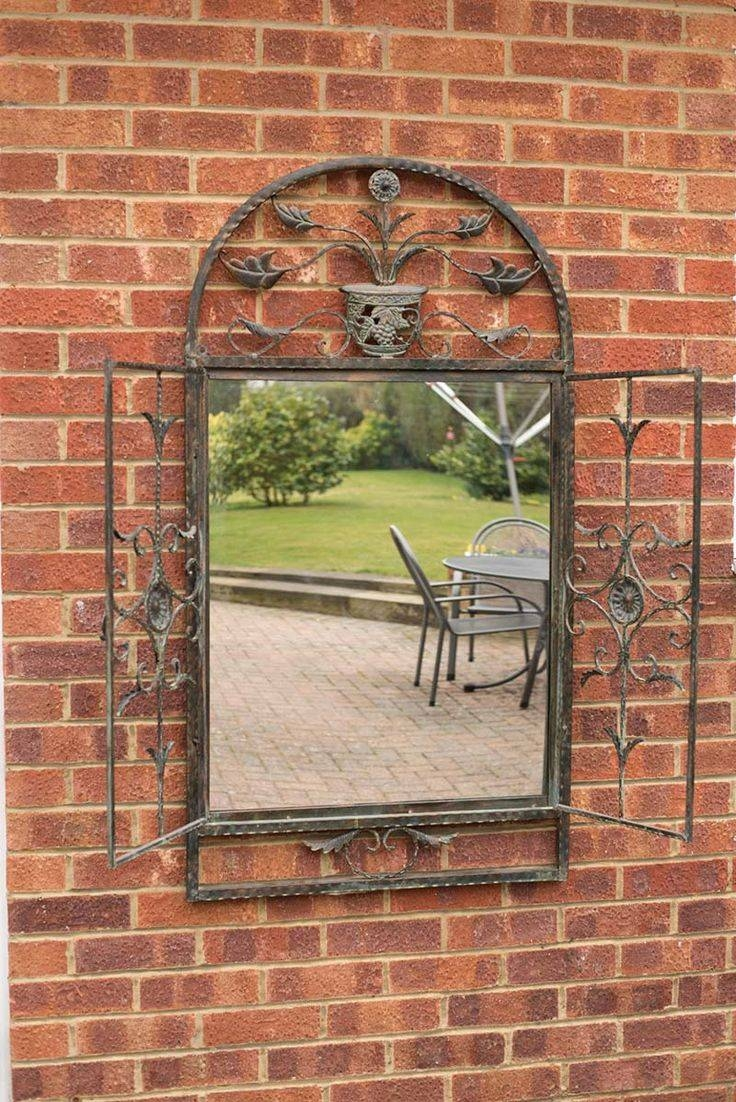 28 Best Mirrors Images On Pinterest | Wall Mirrors, Mirror Mirror within Garden Wall Mirrors (Image 11 of 25)