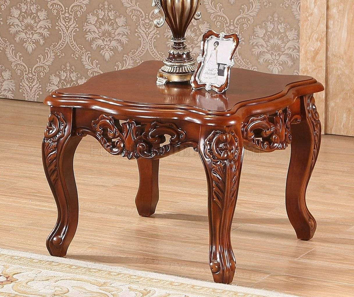289 Coffee Table In Cherry W/optional End Tables for Verona Coffee Tables (Image 1 of 30)