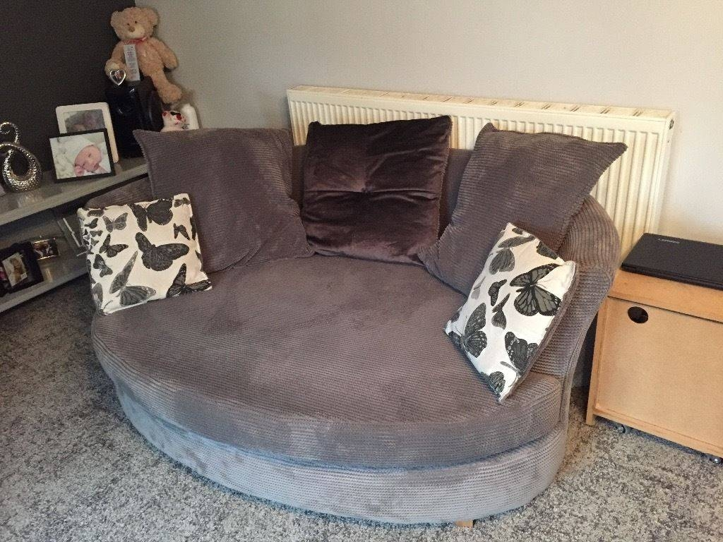 2X Grey Snuggle Sofas | In Norwich, Norfolk | Gumtree for Snuggle Sofas (Image 1 of 30)