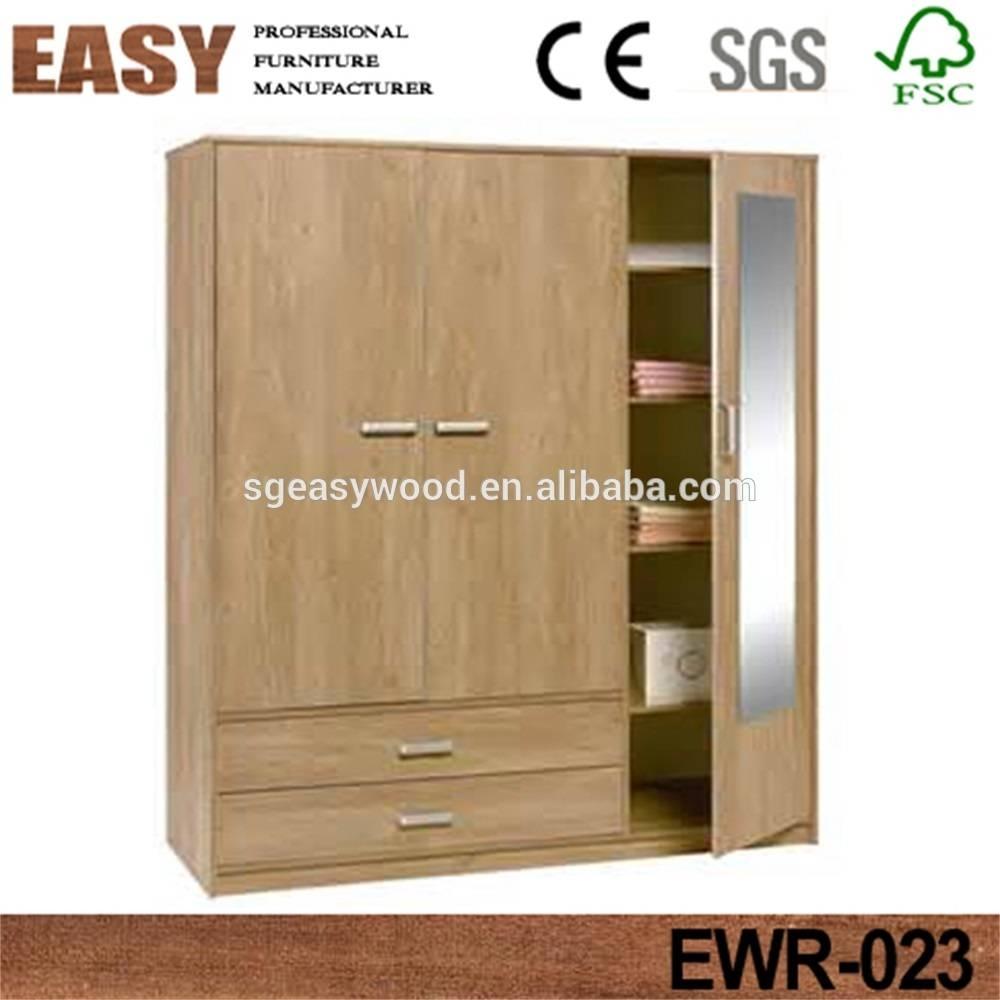 3 Door Wardrobe With Mirror, 3 Door Wardrobe With Mirror Suppliers intended for 3 Door Wardrobe With Drawers and Shelves (Image 1 of 30)