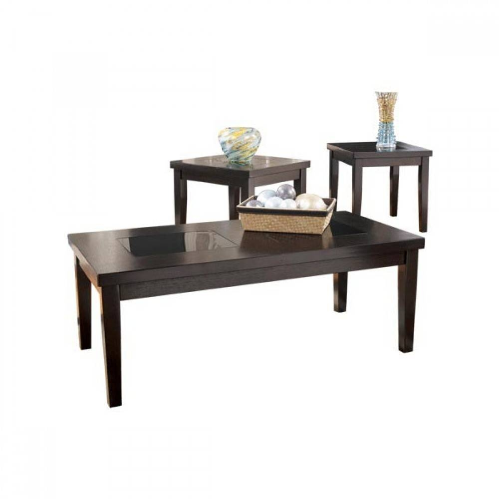 3 Pc Occasional Table Set (3/cn) pertaining to Coffee Table With Chairs (Image 2 of 30)