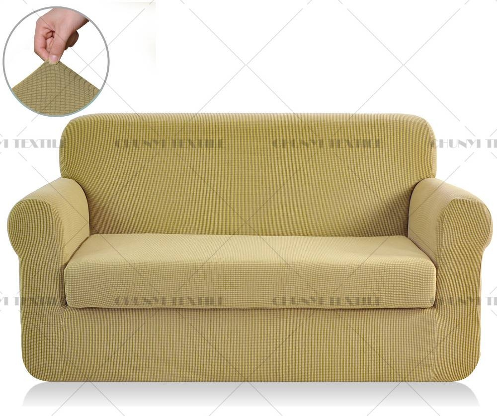 3 Piece Sectional Cover. . Sectional. Sand Salonne 3Piece with regard to 2 Piece Sofa Covers (Image 6 of 30)