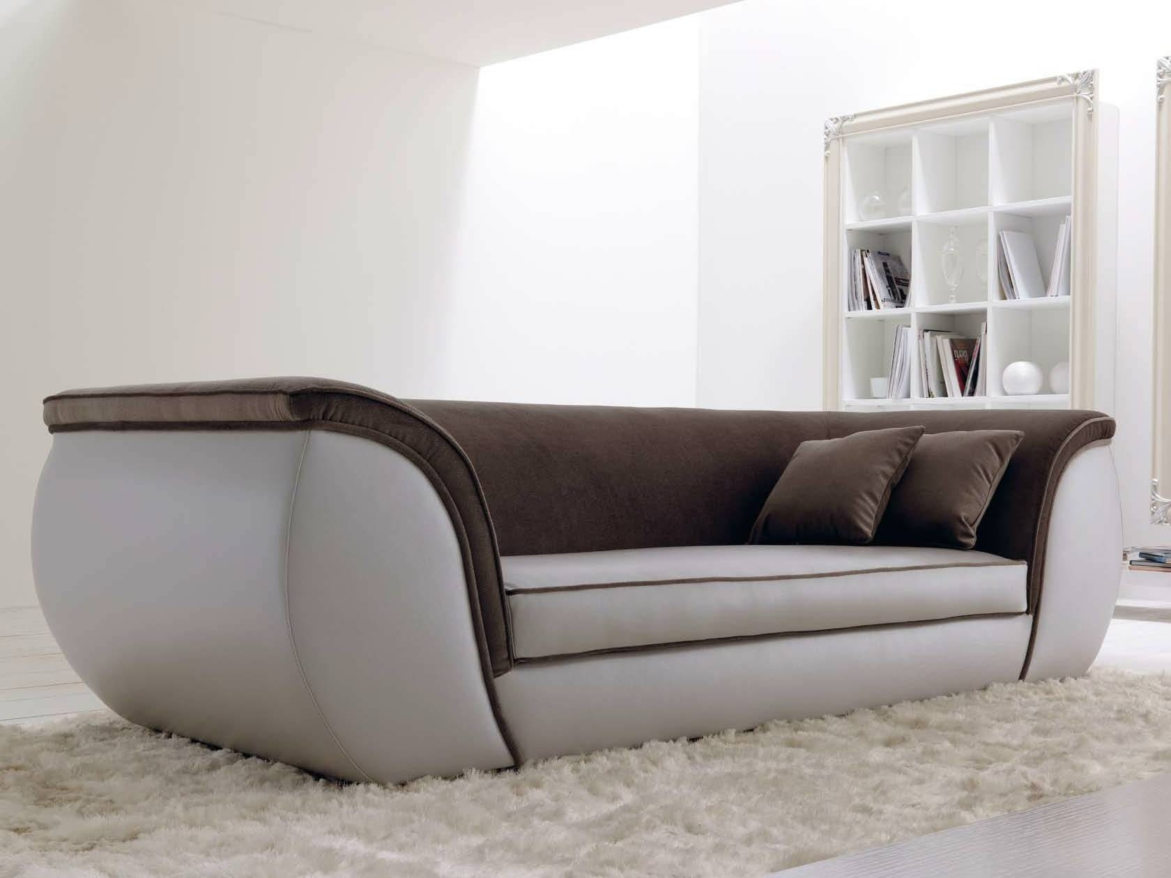 3 Seater Leather Sofa Lapo Quiltcortezari Intended For 3 Seater Leather Sofas (Photo 23 of 30)