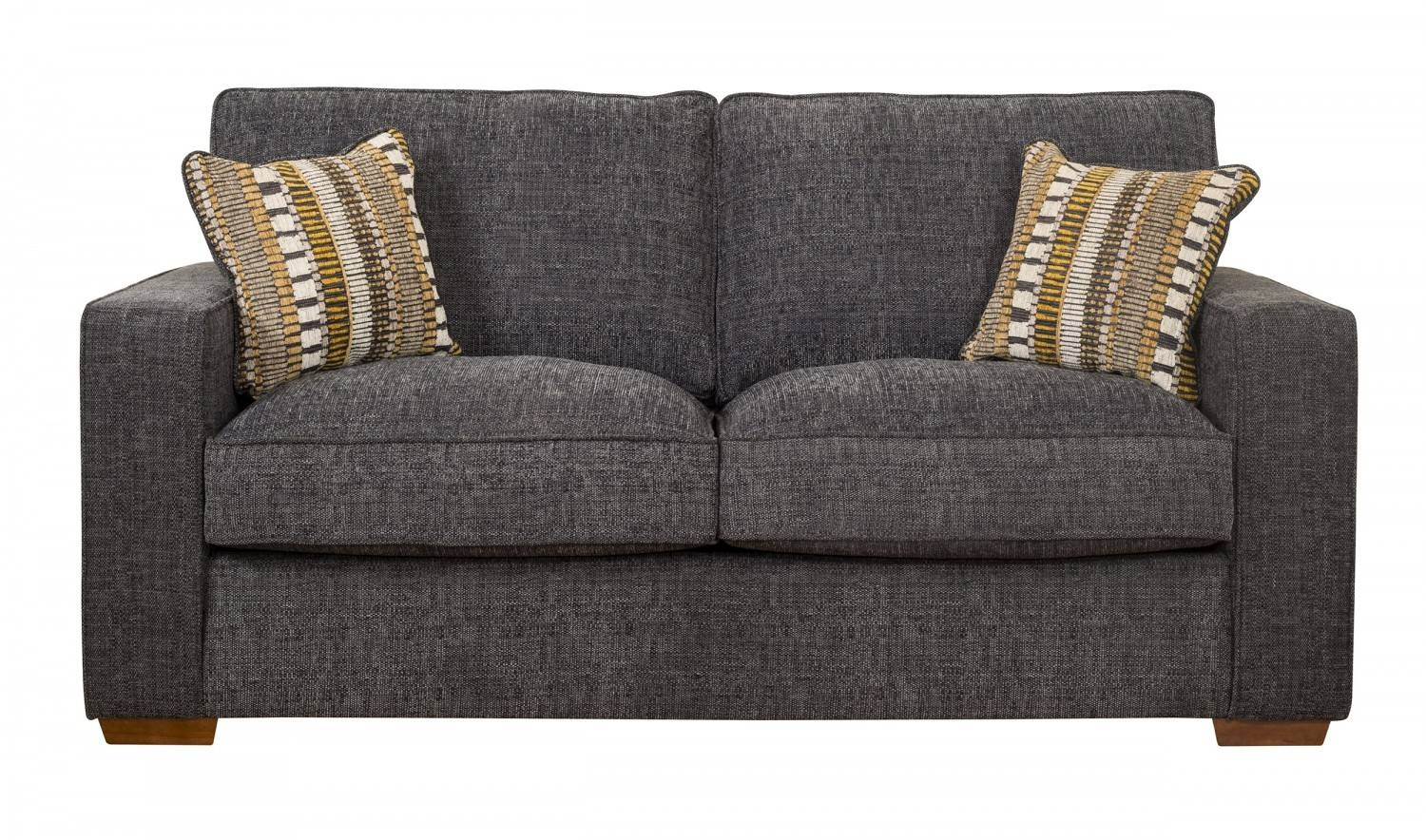 3 Seater Sofas & Settees | Fabric & Leather | Ahf in Canterbury Leather Sofas (Image 1 of 30)