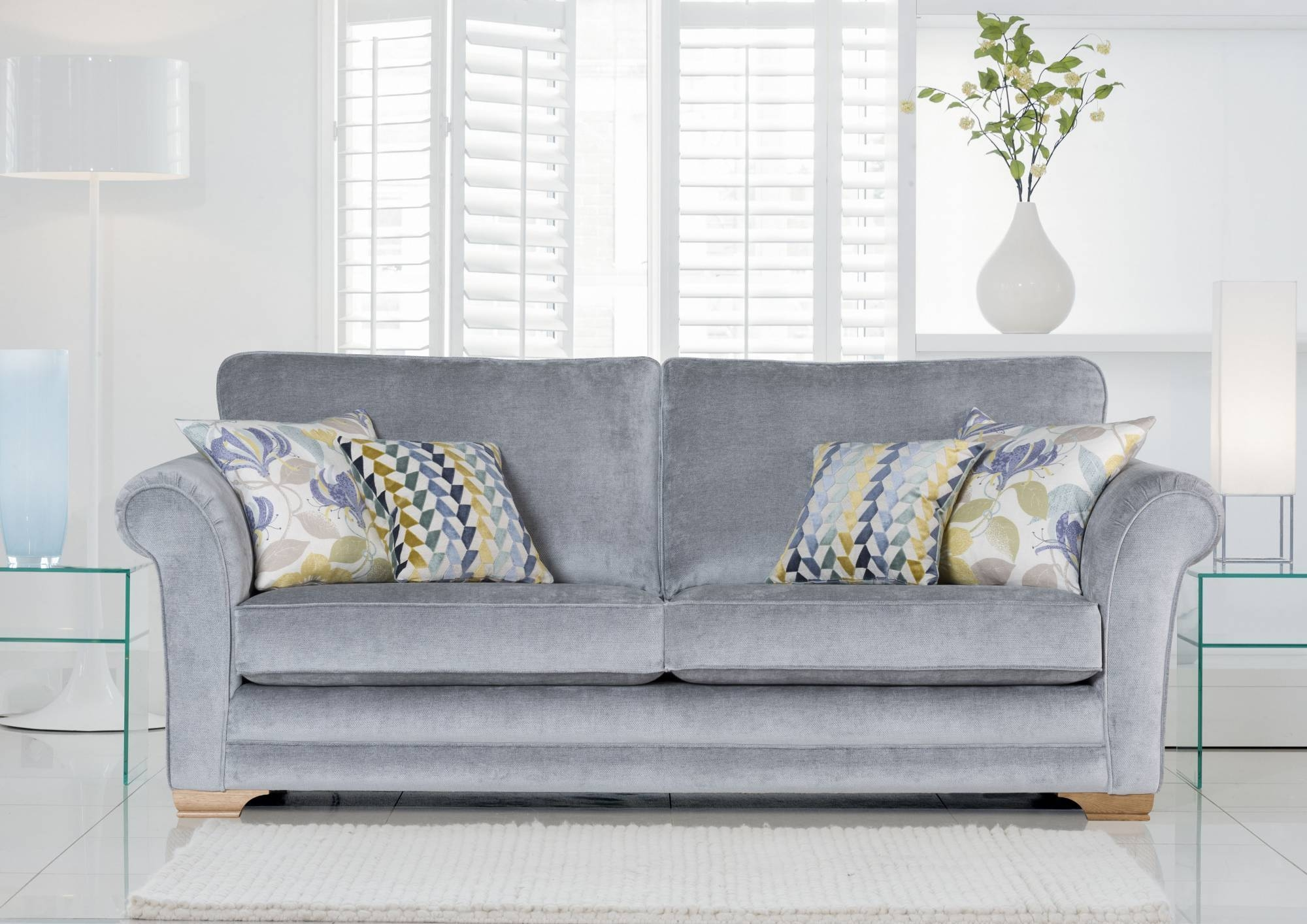 3 Seater Sofas - Sofas And Chairs regarding Newport Sofas (Image 1 of 30)