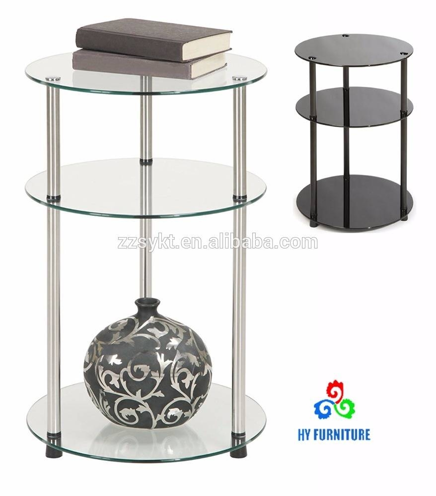3 Tier Glass Coffee Table, 3 Tier Glass Coffee Table Suppliers And With Revolving Glass Coffee Tables (Photo 15 of 30)