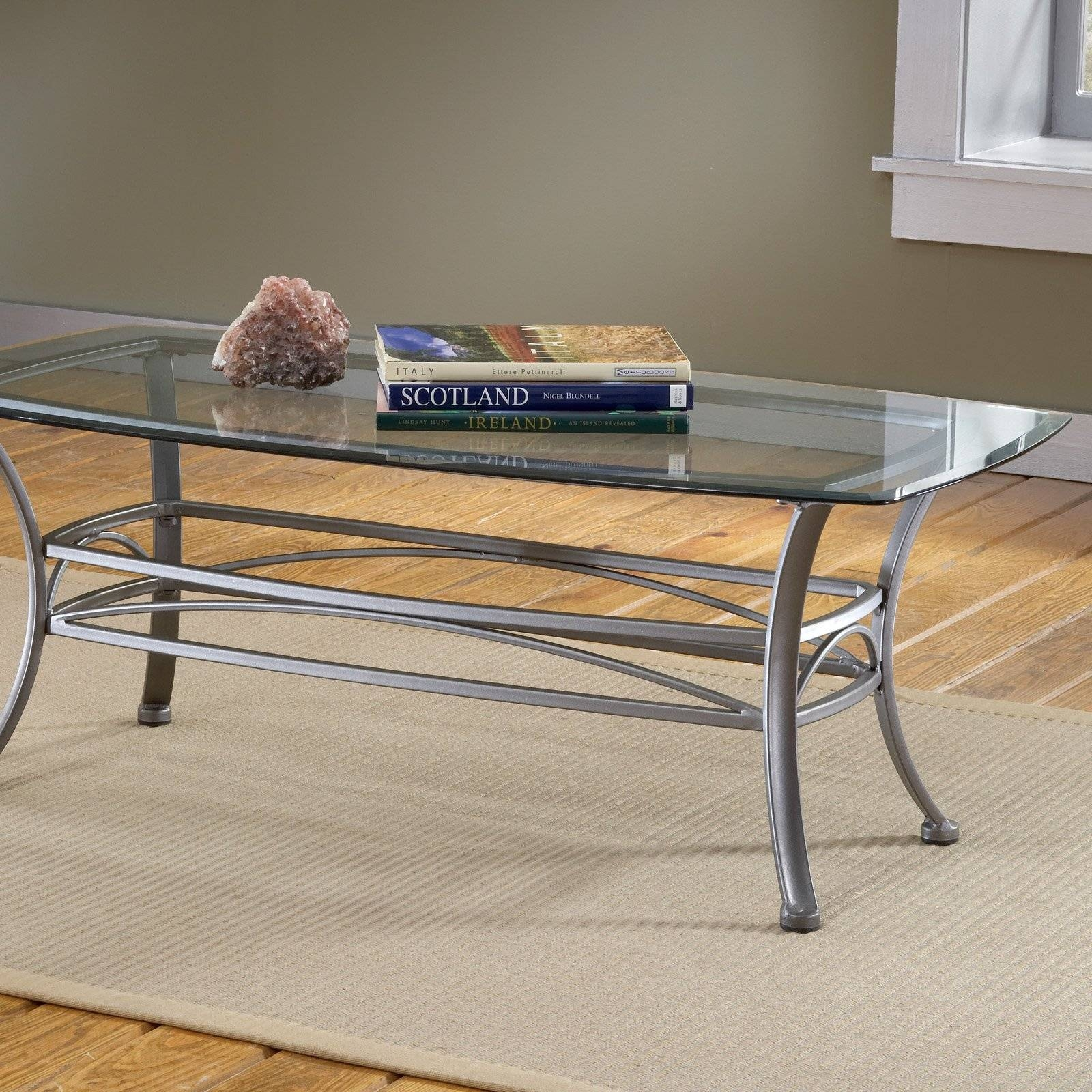 3 Way Motion Glass Square Coffee Table   Coffee Tables At Hayneedle Pertaining To Revolving Glass Coffee Tables (Photo 24 of 30)