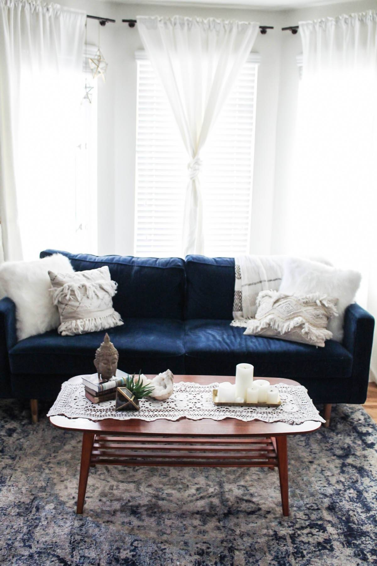 3 Ways To Style A Coffee Table | Advice From A Twenty Something inside Boho Coffee Tables (Image 3 of 30)