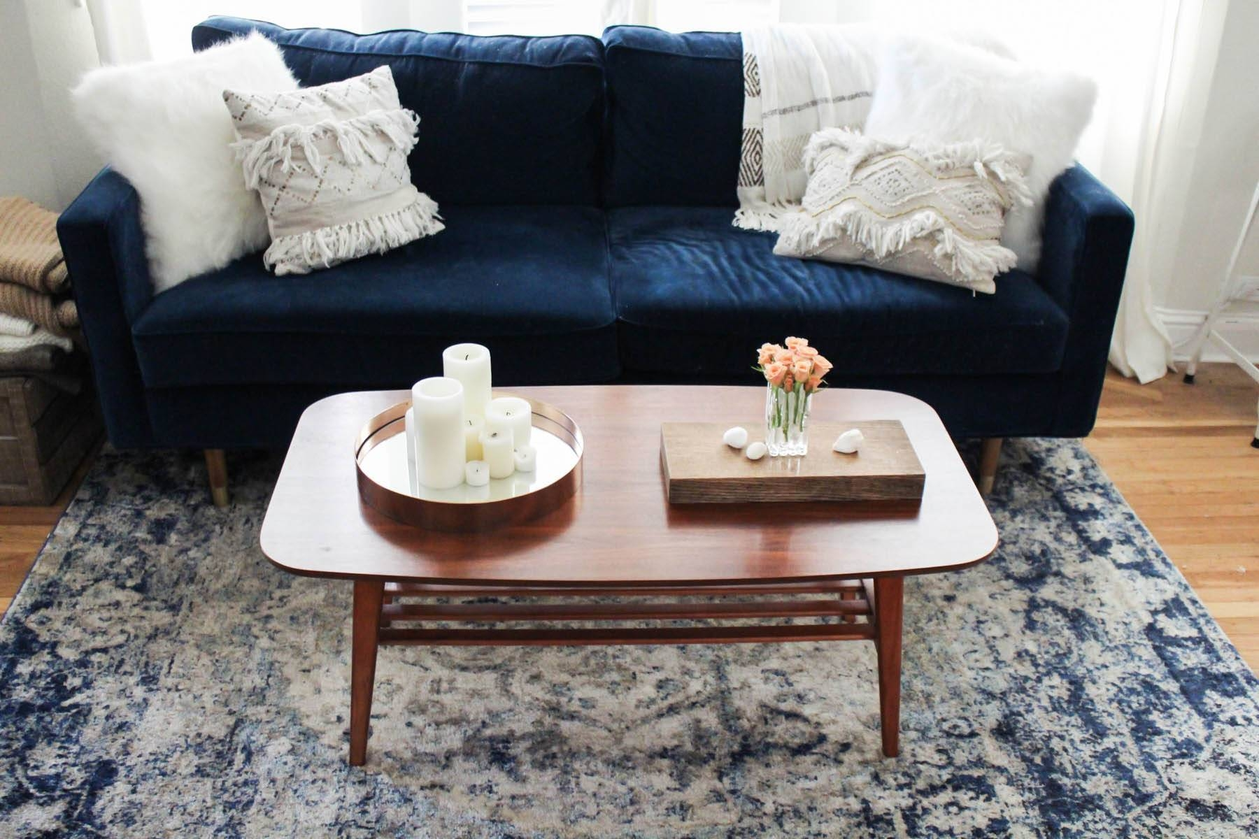 3 Ways To Style A Coffee Table - Aol intended for Buddha Coffee Tables (Image 3 of 30)