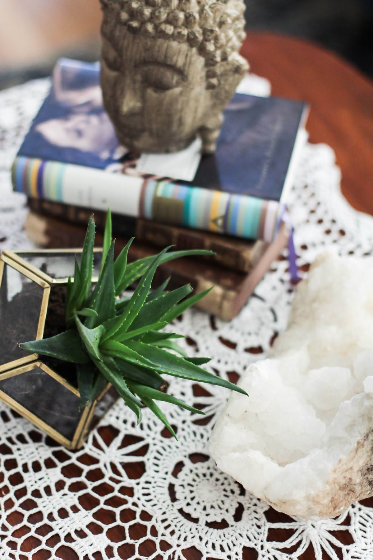 3 Ways To Style A Coffee Table - Aol Lifestyle in Boho Coffee Tables (Image 2 of 30)
