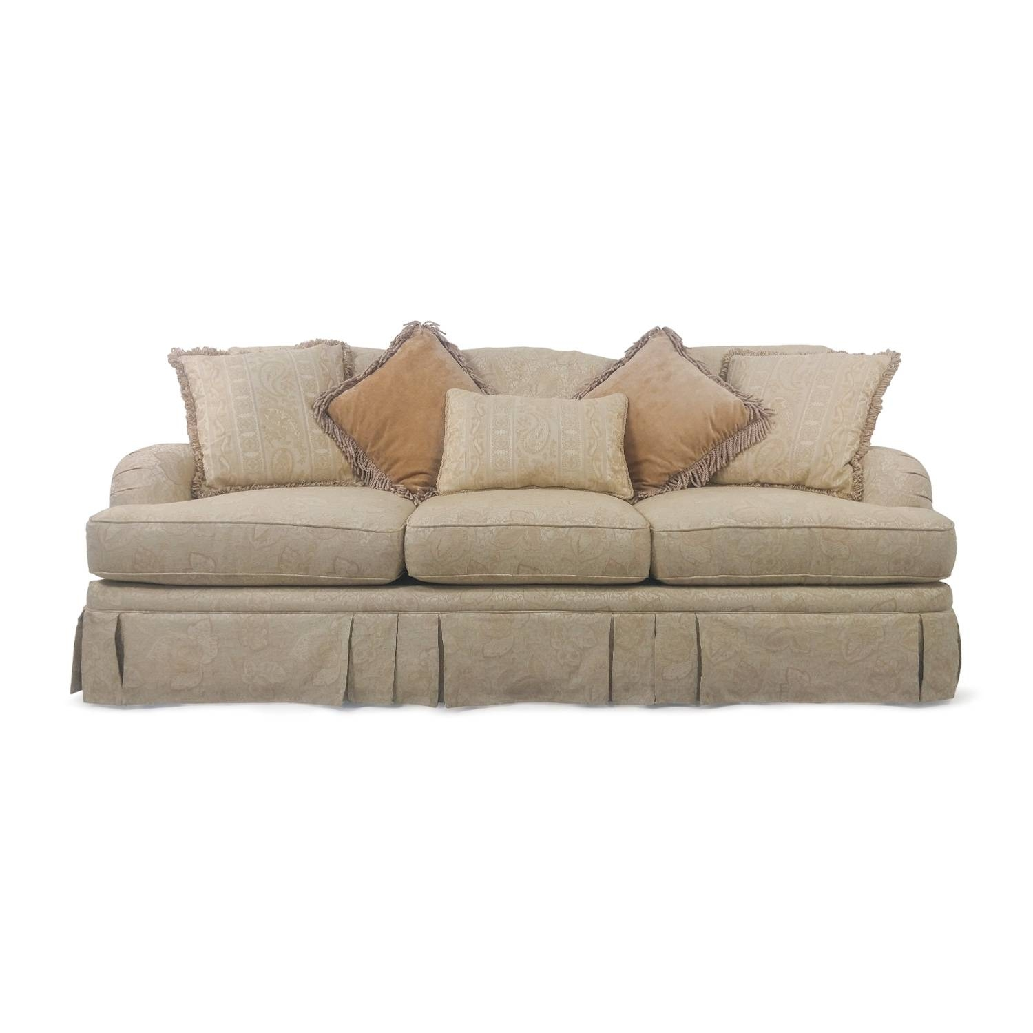 32% Off - West Elm West Elm Mid-Century Heathered Weave Sofa / Sofas with Classic Sofas for Sale (Image 4 of 30)