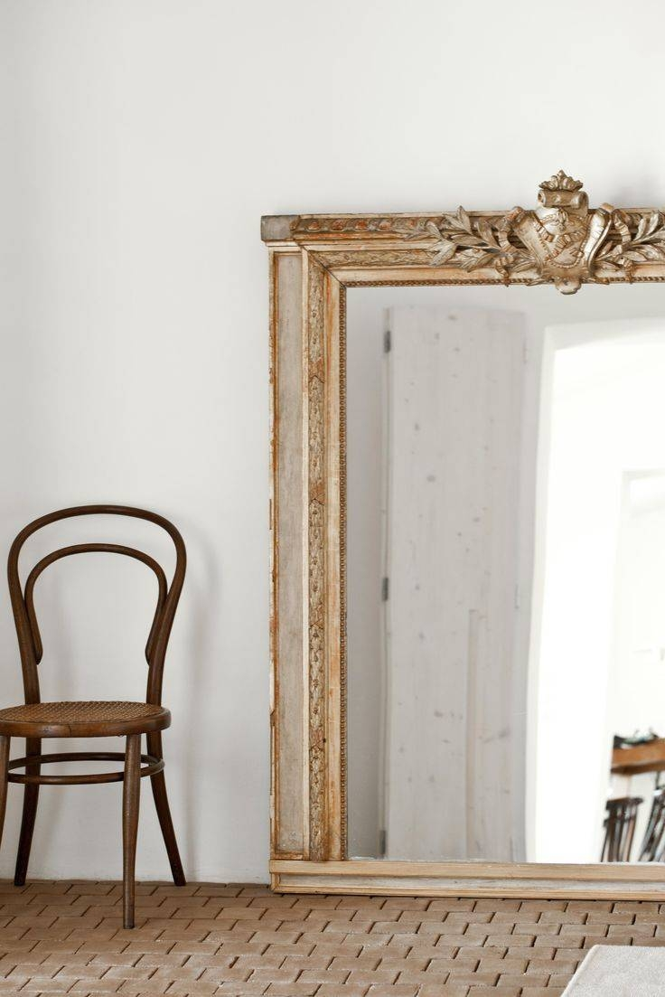 321 Best M I R R O R S Images On Pinterest | Mirror Mirror, Mirror in Antique French Floor Mirrors (Image 1 of 25)