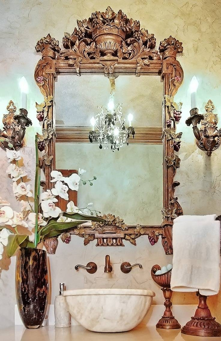 327 Best My Glitzy Glam Room <3 Images On Pinterest | Glitzy Glam Regarding Glitzy Mirrors (Photo 11 of 25)