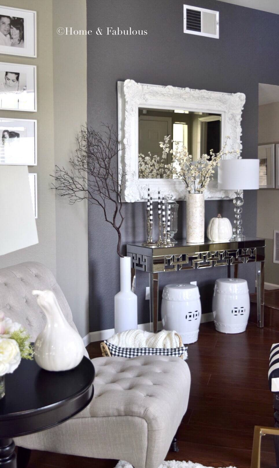 33 Best Mirror Decoration Ideas And Designs For 2017 inside White Decorative Mirrors (Image 2 of 25)