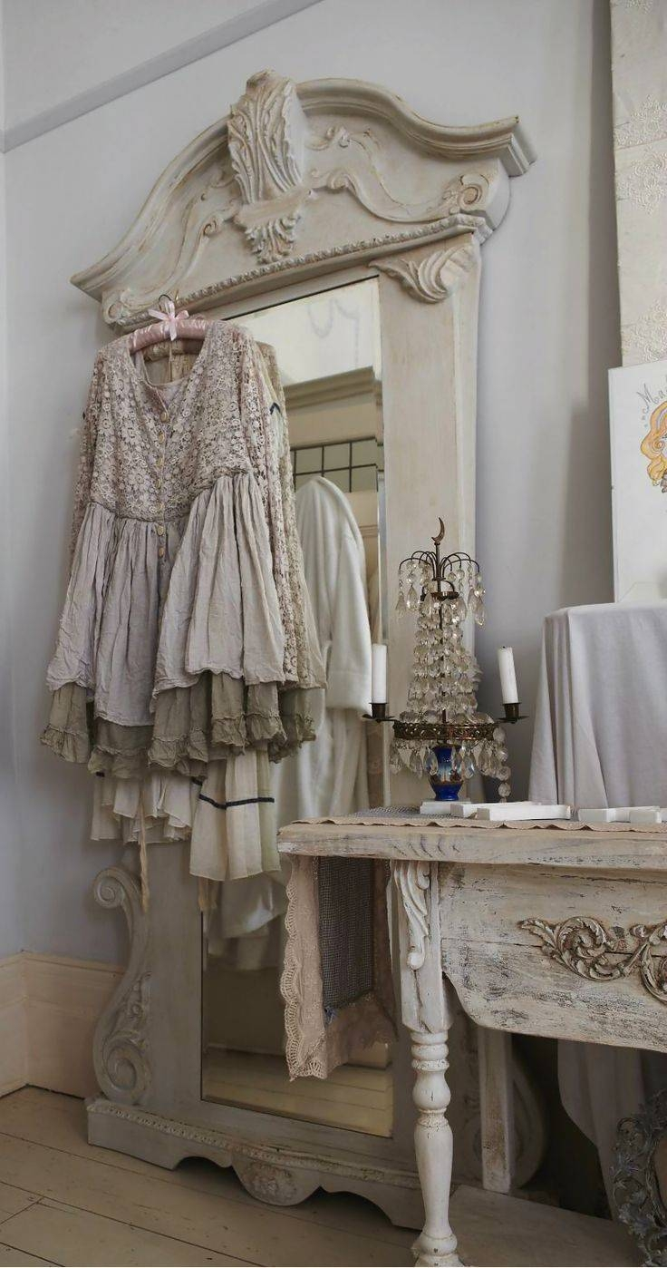 33 Best Mirror Mirror On The Wall Images On Pinterest | Mirror inside Shabby Chic Floor Mirrors (Image 1 of 25)