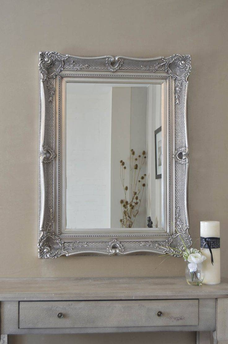 33 Best Mirrors Images On Pinterest | Wall Mirrors, Antique Silver with regard to Large Ornate Silver Mirrors (Image 3 of 25)