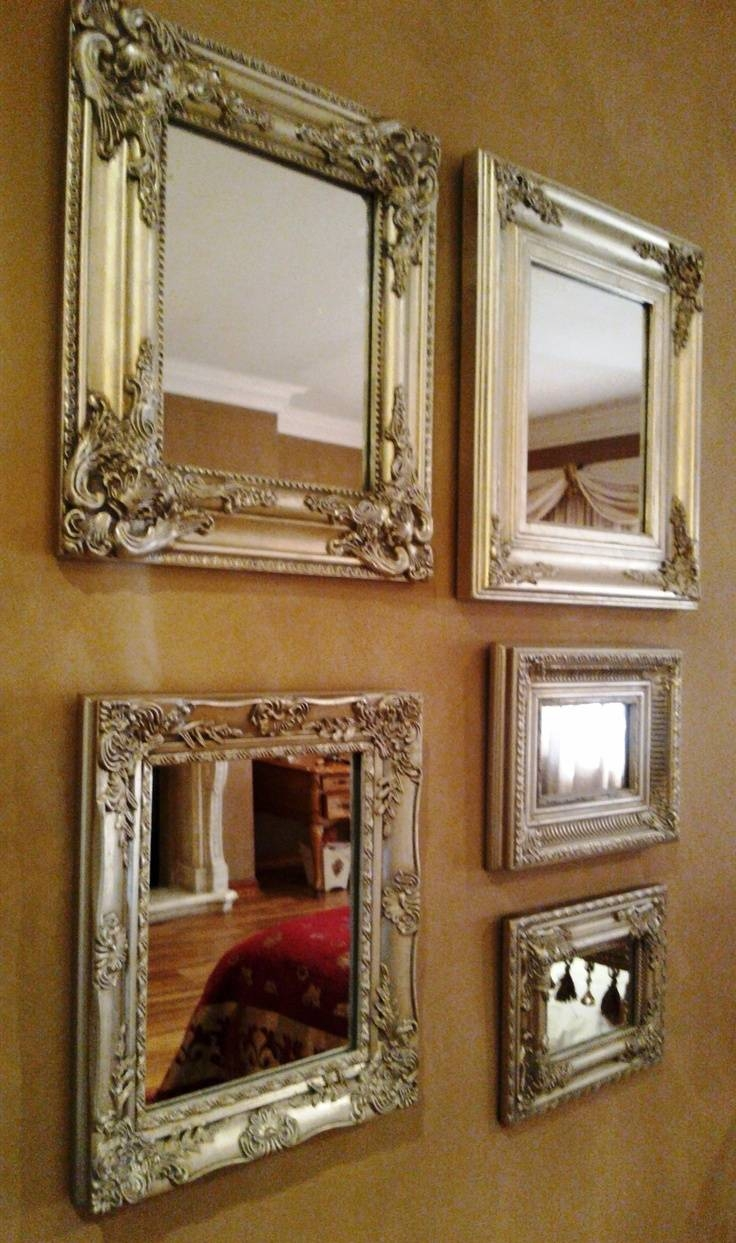 347 Best I Love Mirrors! Images On Pinterest | Mirror Mirror throughout Small Venetian Mirrors (Image 3 of 25)