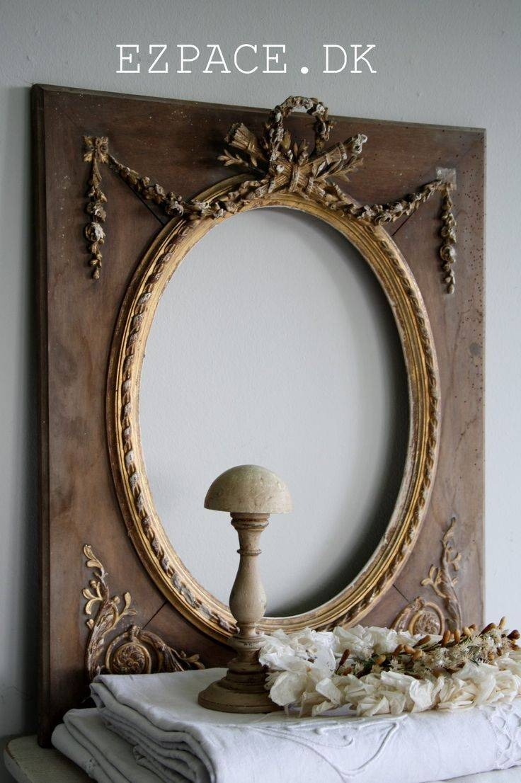 349 Best ~Gorgeous Vintage Mirrors~ Images On Pinterest | Mirror in Vintage Mirrors (Image 8 of 25)
