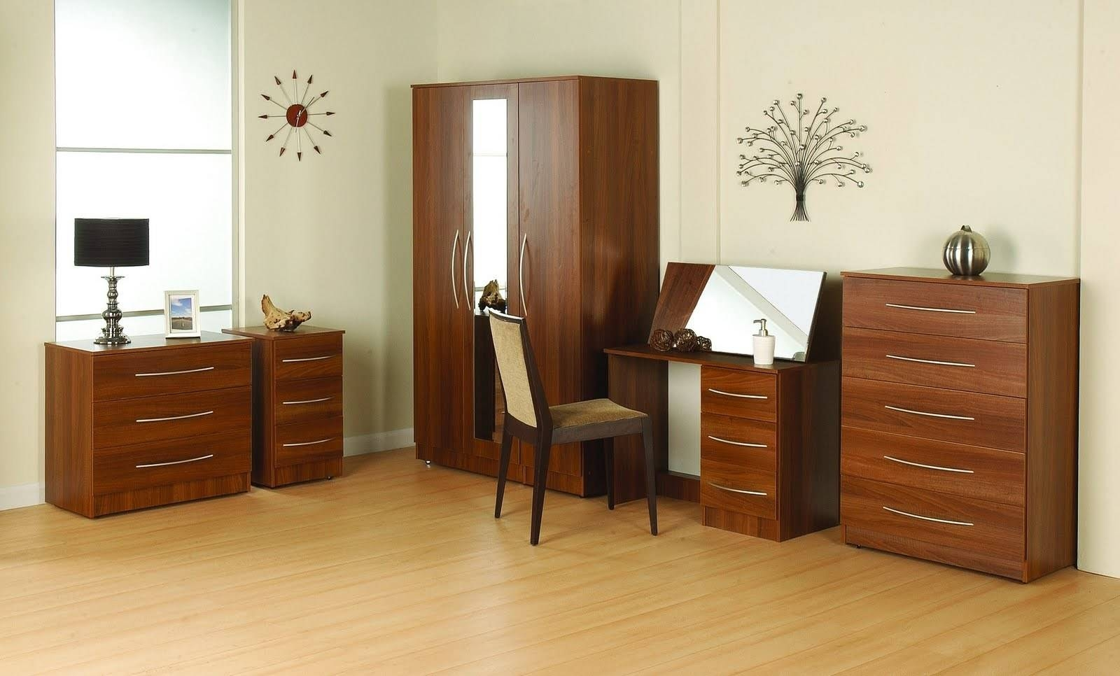 35+ Images Of Wardrobe Designs For Bedrooms with Dark Wood Wardrobes (Image 5 of 30)