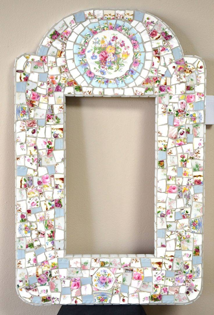 36 Best My Mosaics Images On Pinterest | Mosaic Mirrors, Broken pertaining to Mosaic Mirrors (Image 2 of 25)