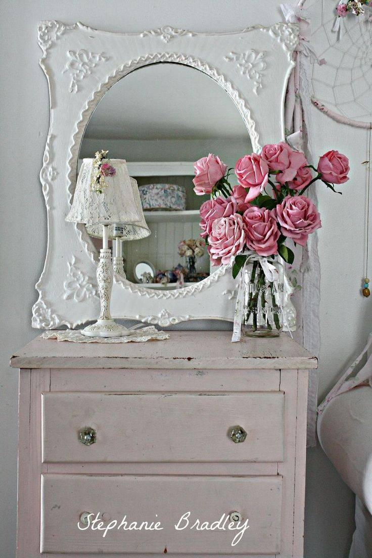 361 Best Mirrors And Frames Images On Pinterest | Mirror Mirror intended for Vintage Shabby Chic Mirrors (Image 4 of 25)