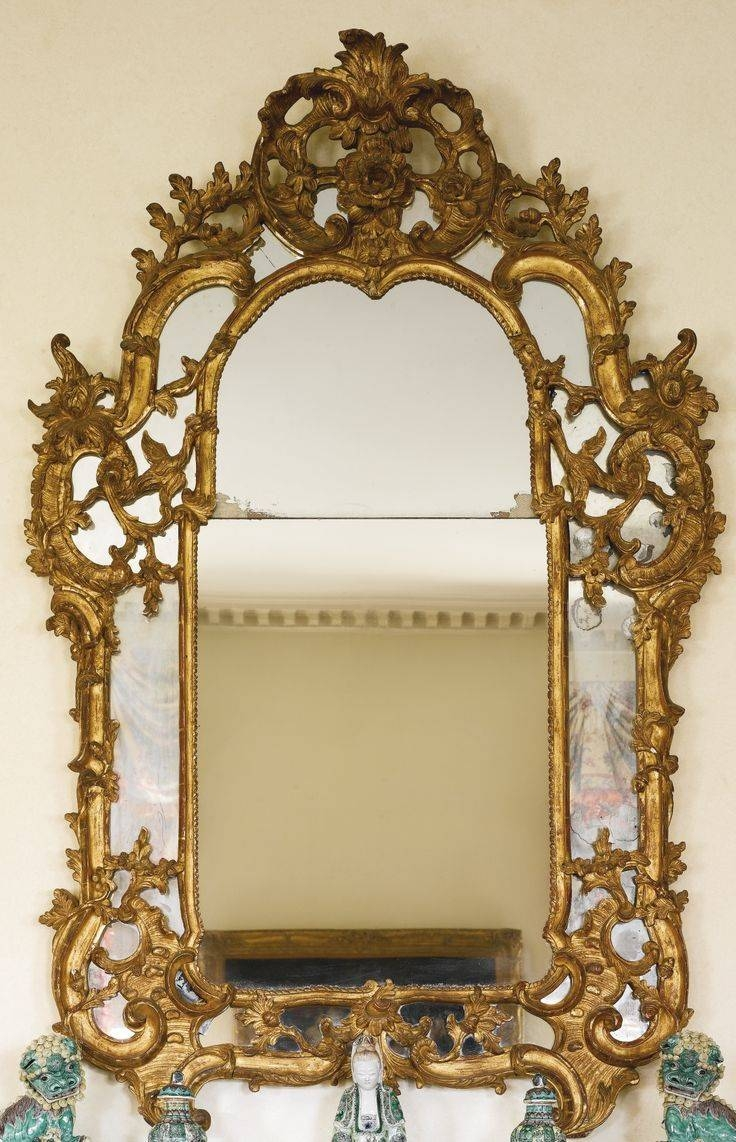 365 Best Mirror. Mirror Images On Pinterest | Mirror Mirror for Antique Gilded Mirrors (Image 2 of 25)