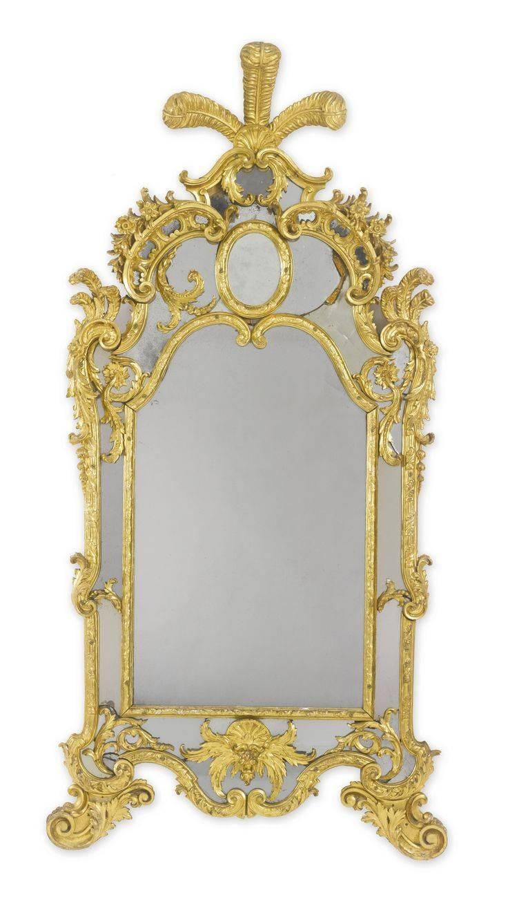 376 Best Antique Furniture-Italian Images On Pinterest | Antique in Antique Gilded Mirrors (Image 3 of 25)