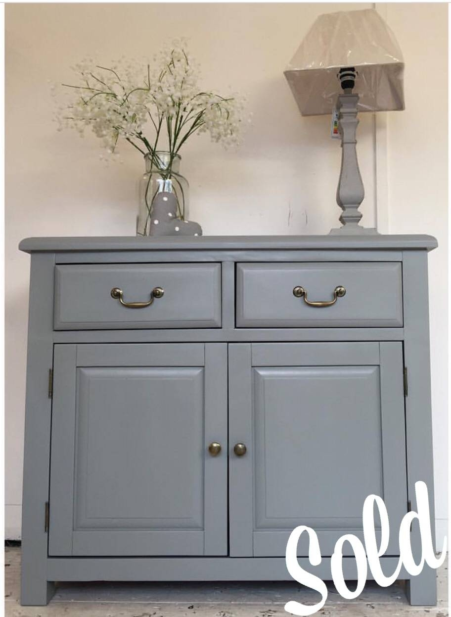 3Ft3'' Wide Grey Sideboard - Home Sweet Homehome Sweet Home with Dark Grey Sideboards (Image 1 of 30)