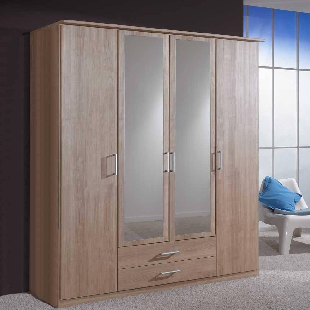 4 Door Wardrobes - Interior4You with Cheap 4 Door Wardrobes (Image 1 of 15)