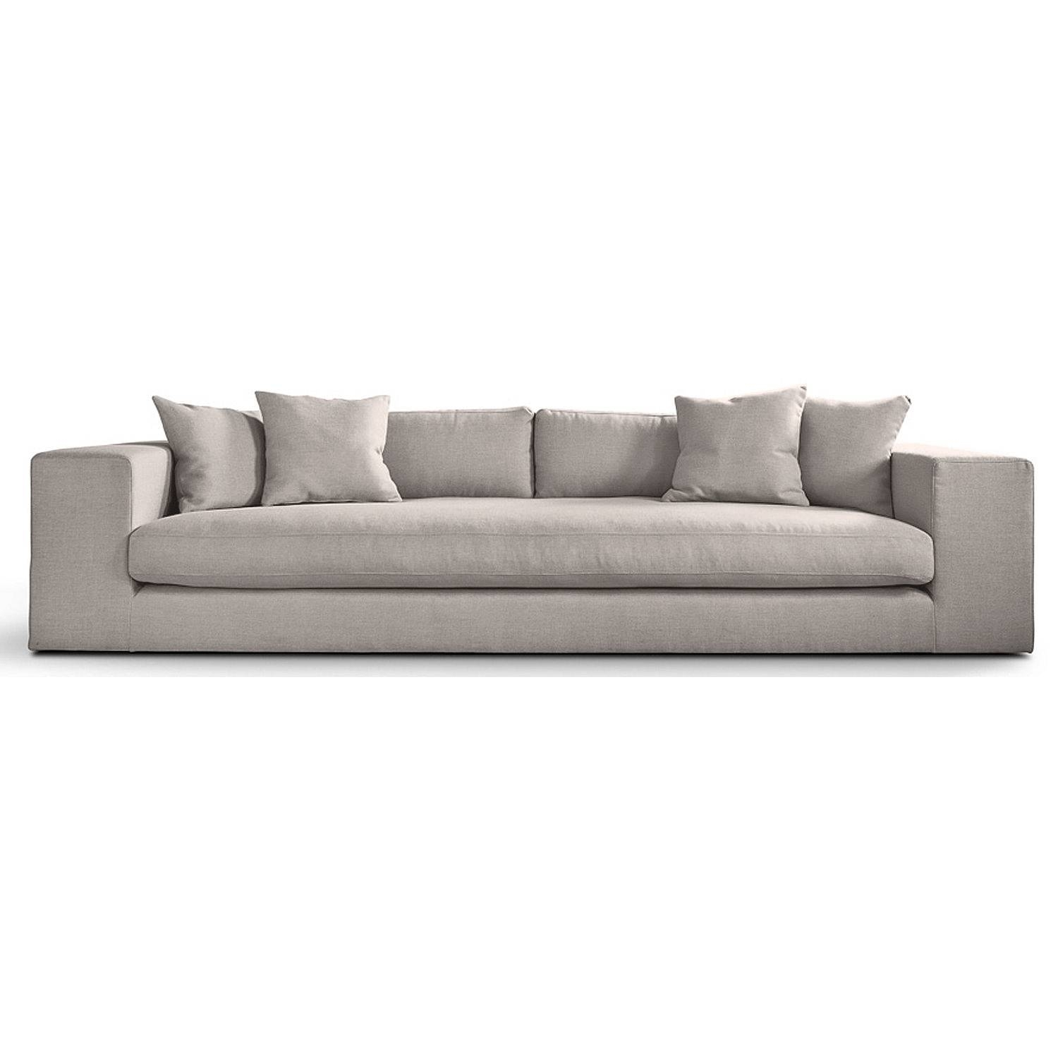 4 Seater Sofa Imprimatur 4 Seater Sofa Maxalto Milia - Thesofa regarding Four Seat Sofas (Image 1 of 30)