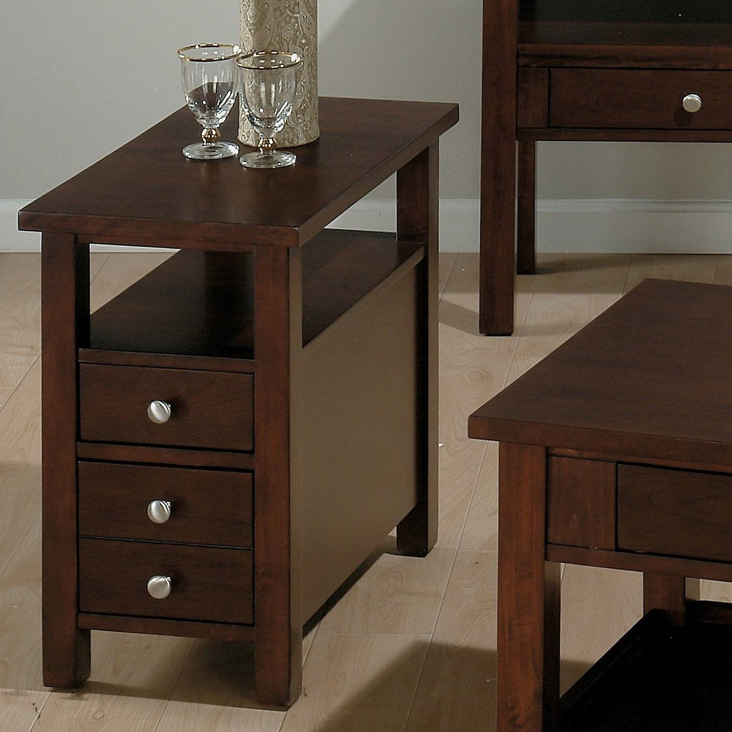 4 Tips In Choosing Round Coffee Tables With Storage - Interior for Round Coffee Tables With Drawers (Image 1 of 30)