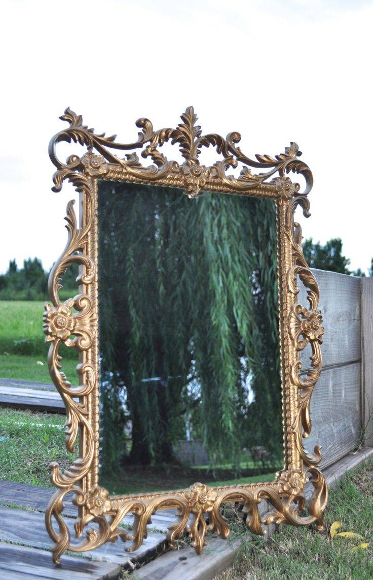 41 Best Gold Ornate Mirrors Images On Pinterest | Ornate Mirror with Gold Ornate Mirrors (Image 2 of 25)