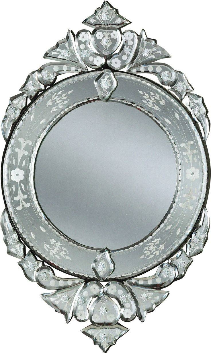 41 Best Vintage Mirrors Images On Pinterest | Vintage Mirrors regarding Heart Venetian Mirrors (Image 4 of 25)