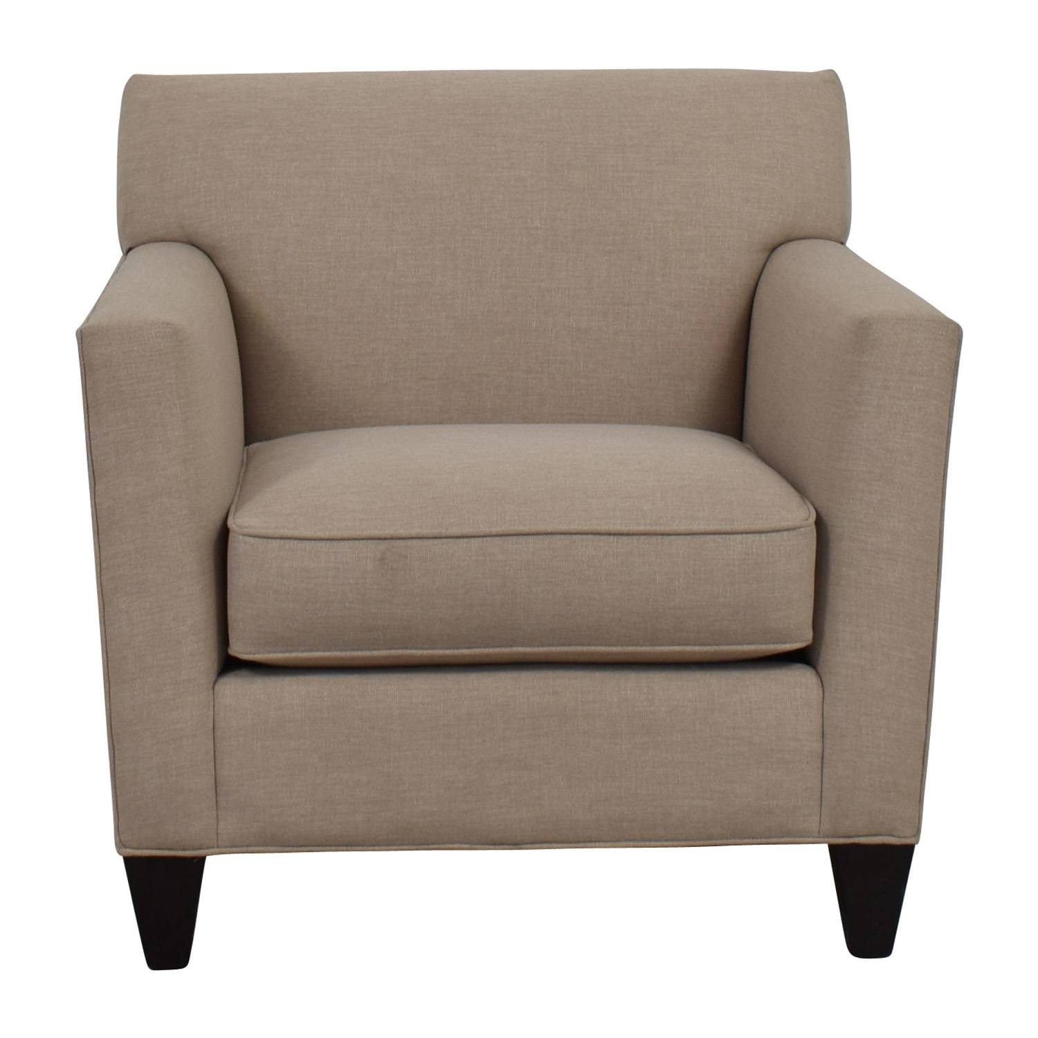 43% Off – Crate & Barrel Crate & Barrel Hennessy Sofa Chair / Chairs In Sofa Chairs (View 3 of 30)