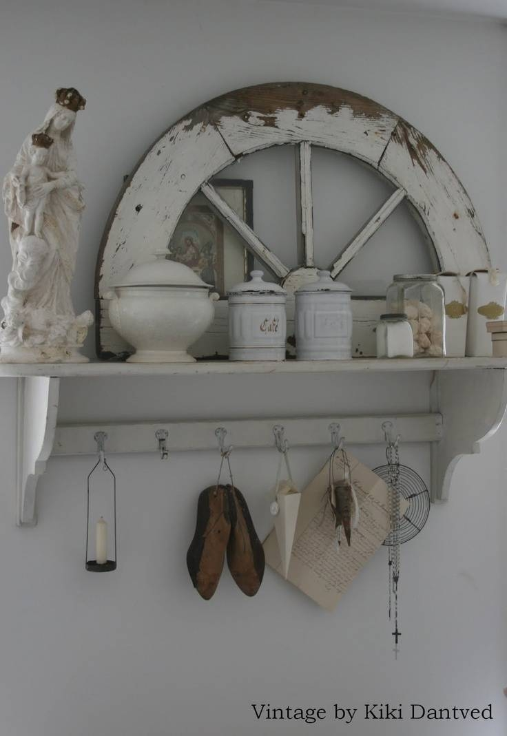 435 Best Shabby White Images On Pinterest | Shabby Chic Decor pertaining to Shabby Chic Window Mirrors (Image 3 of 25)