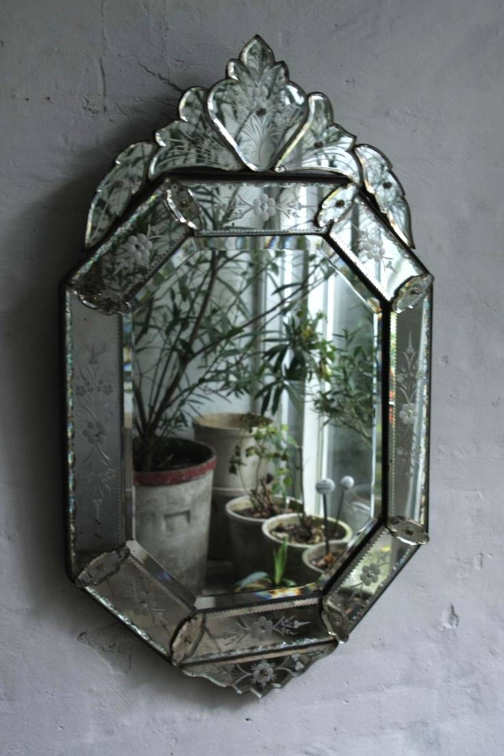 44 Best Beautiful Mirrors Images On Pinterest | Venetian Mirrors inside Antique Venetian Mirrors (Image 2 of 25)