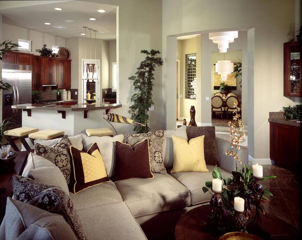 45 Contemporary Living Rooms With Sectional Sofas (Pictures) regarding Decorating With a Sectional Sofa (Image 4 of 30)