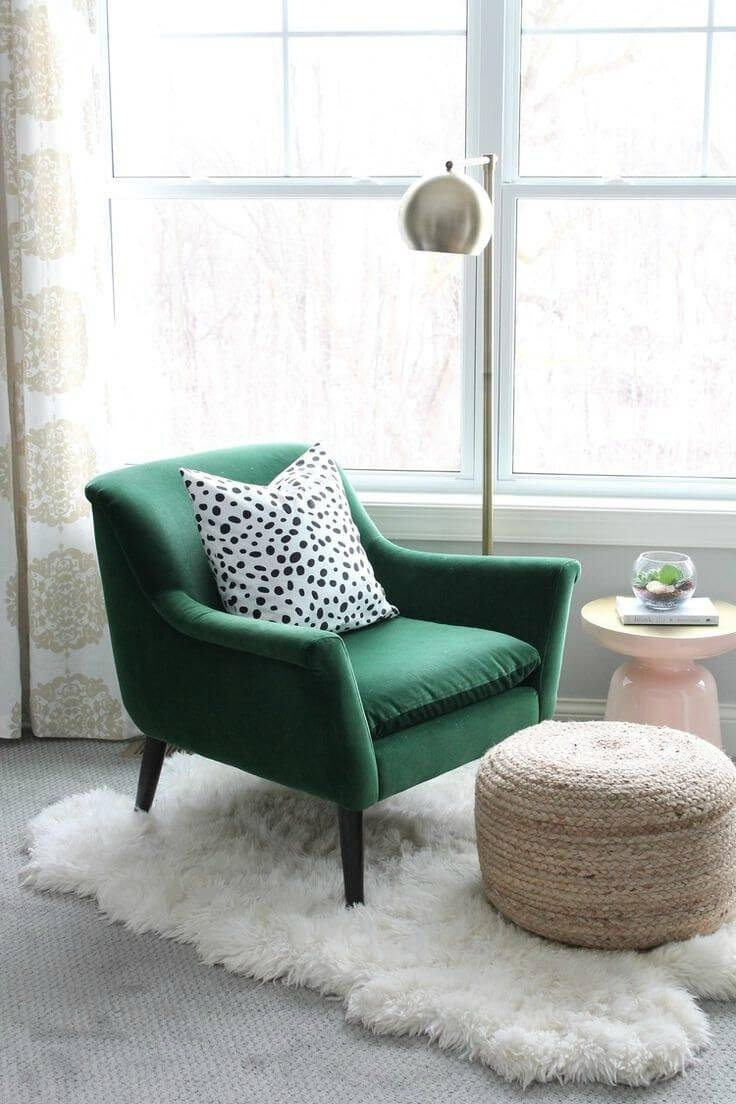 499 Best Bedroom Chairs Images On Pinterest inside Small Armchairs Small Spaces (Image 2 of 30)