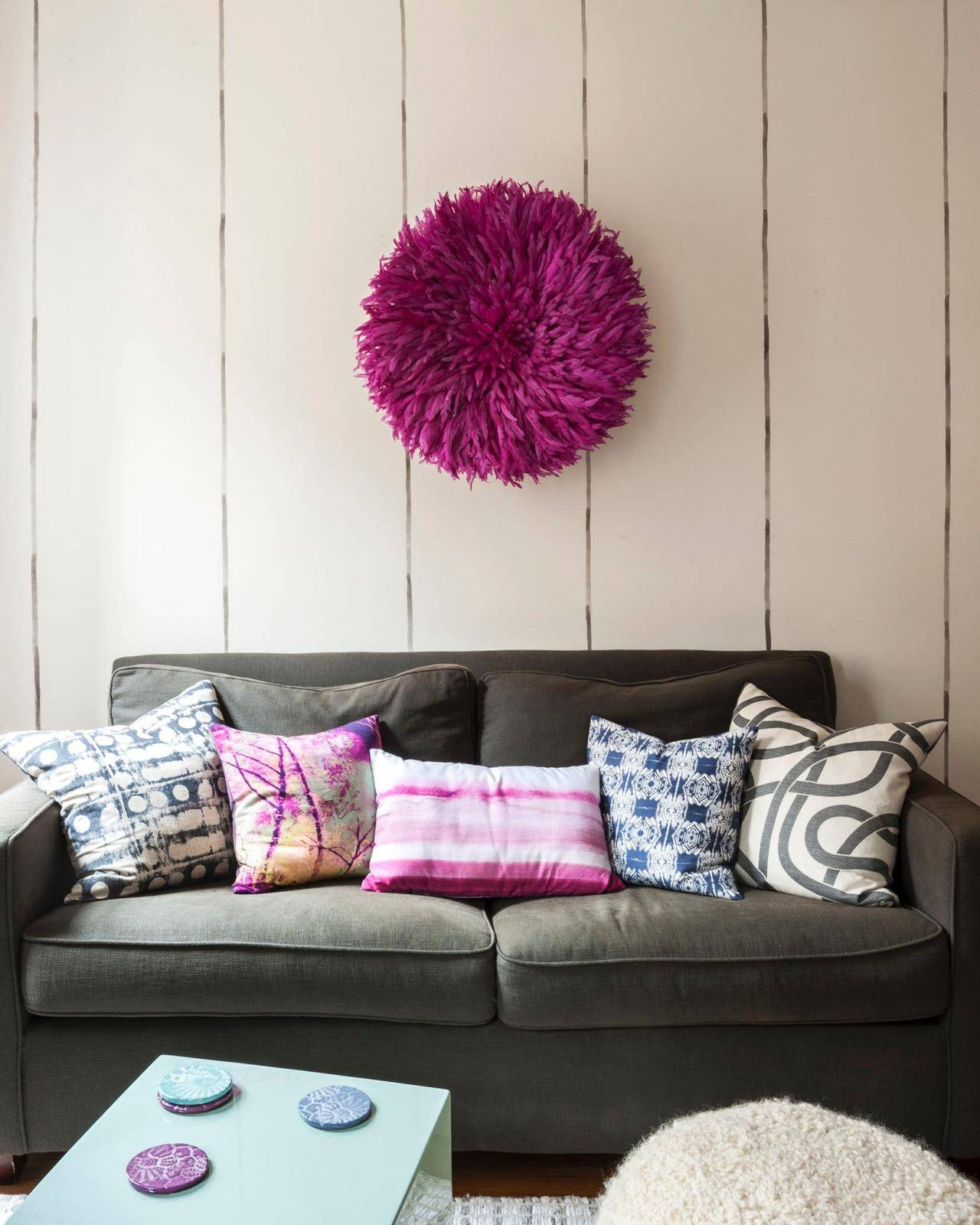 5 Apartment Sized Sofas That Are Lifesavers | Hgtv's Decorating Within 68 Inch Sofas (Photo 12 of 30)