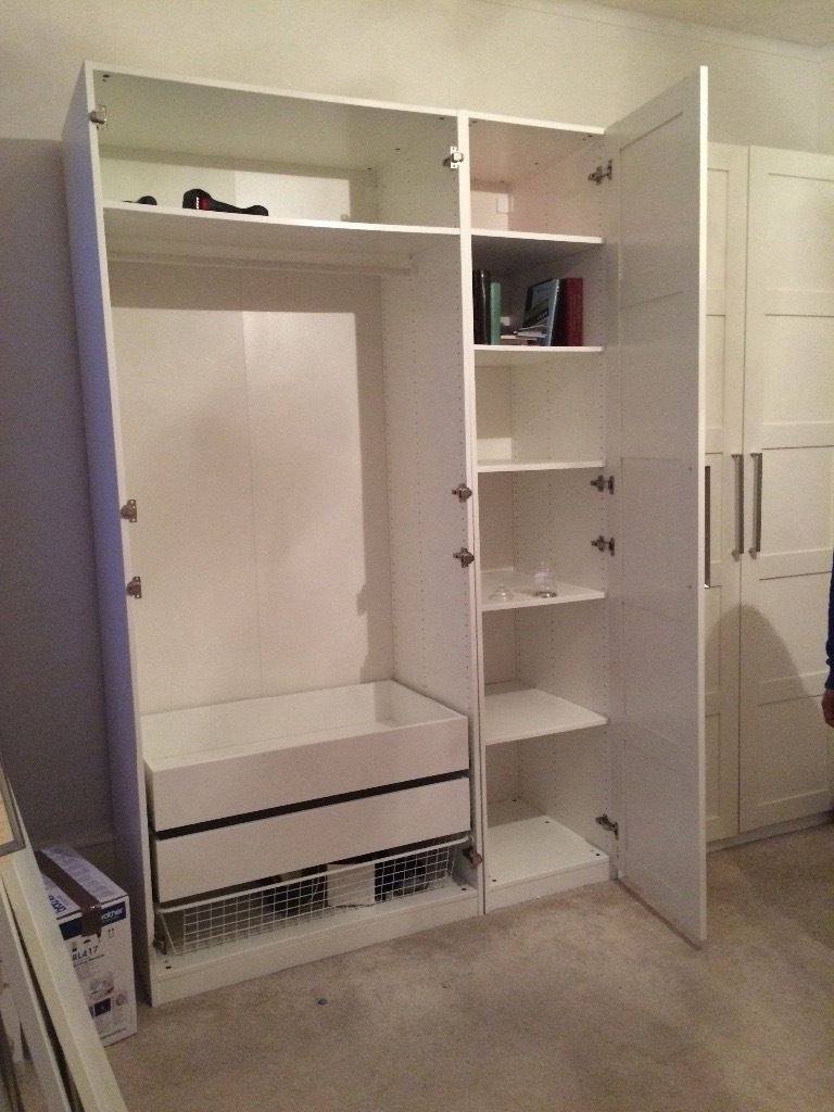 5 Door Ikea Wardrobe With Drawers And Shelves Inside | In throughout Wardrobes With Drawers And Shelves (Image 3 of 30)