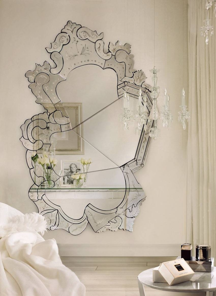 5 Extraordinary Venetian Wall Mirrors You Will Love To Have within Venetian Wall Mirrors (Image 2 of 25)