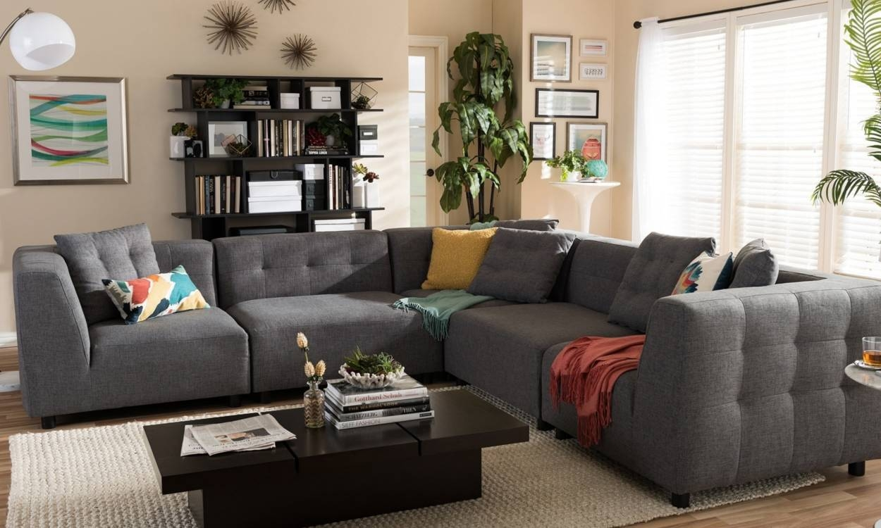 5 Tips To Help You Find The Right Sectional Sofa - Overstock with C Shaped Sectional Sofa (Image 1 of 30)