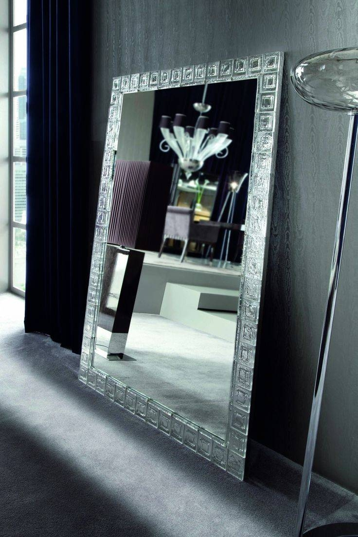 50 Best Captivating Floor Standing Mirrors Images On Pinterest in Chrome Floor Mirrors (Image 1 of 25)
