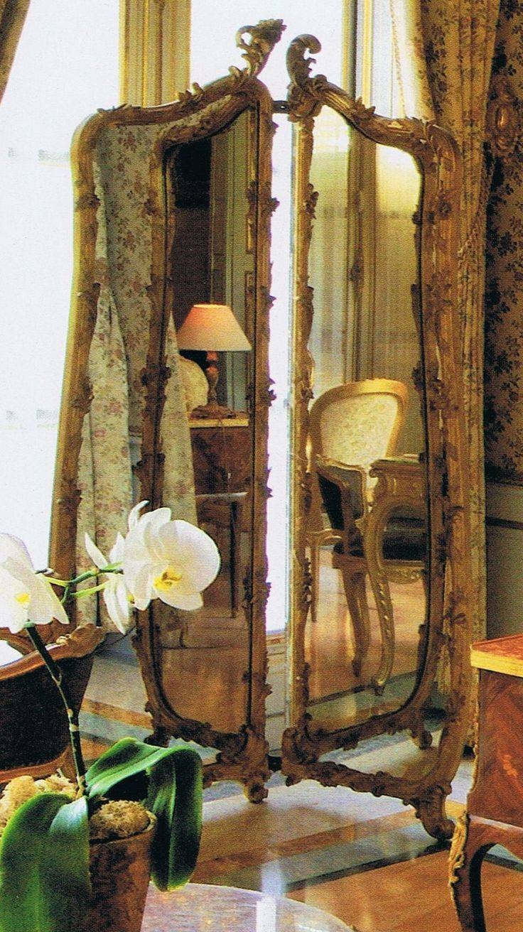 501 Best Mirrors Images On Pinterest | Mirror Mirror, Vintage with regard to Free Standing Dress Mirrors (Image 3 of 25)