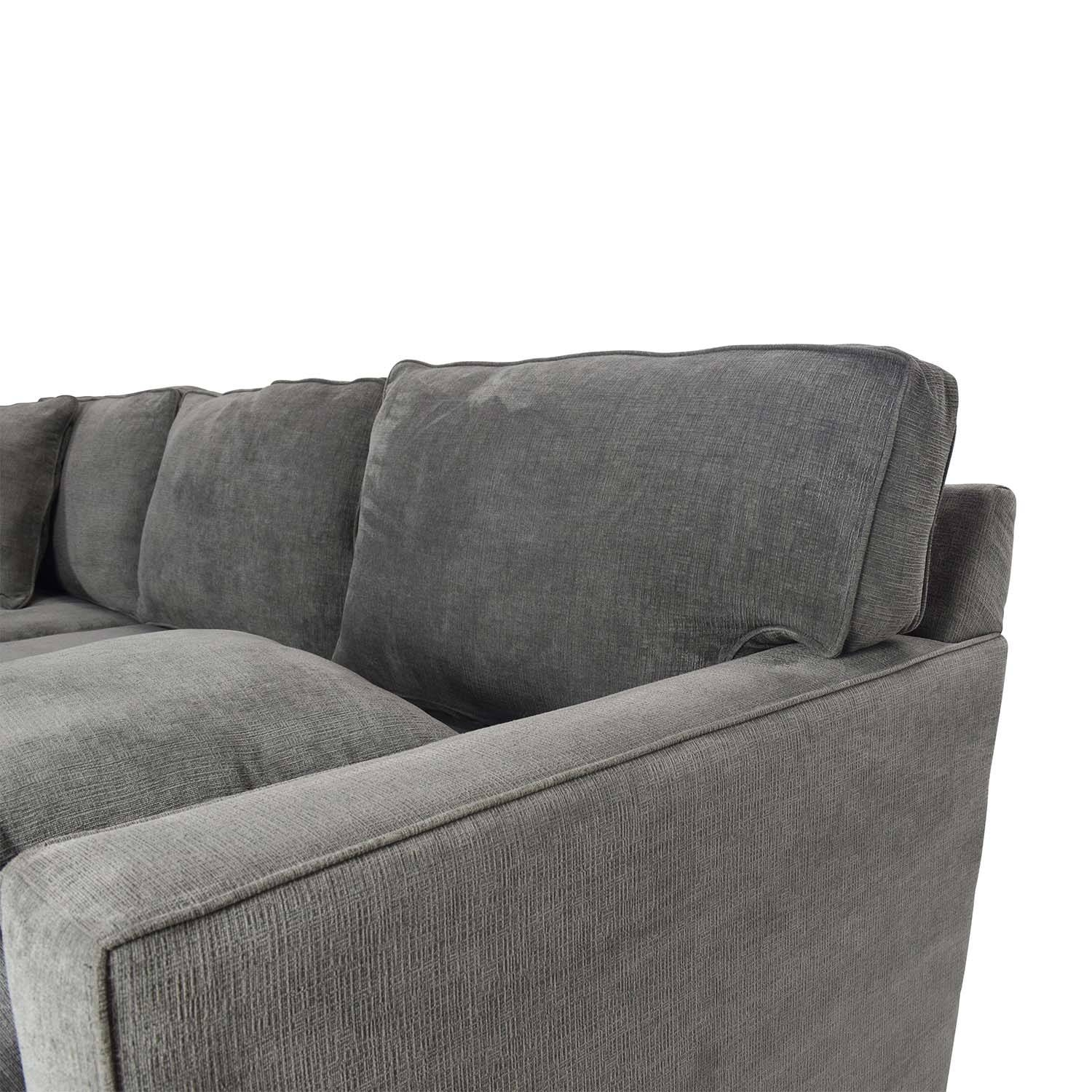 51% Off - Macy's Radley Sectional Sofa / Sofas within Macys Sofas (Image 1 of 25)