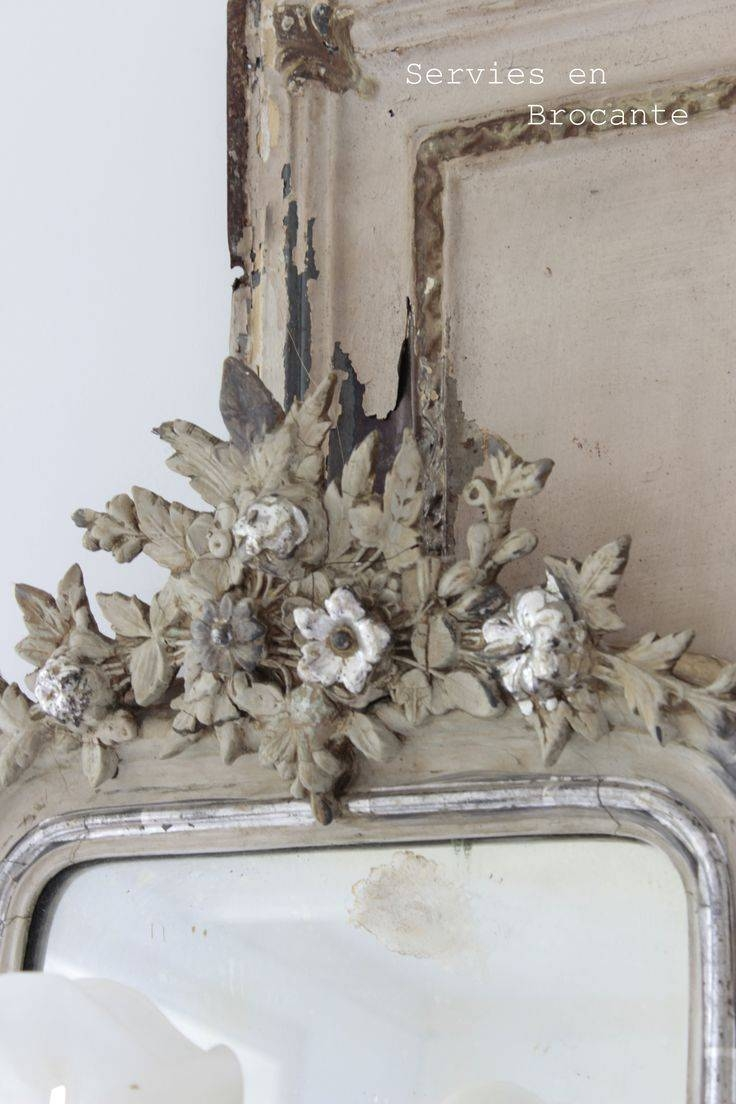 533 Best Mirrors Images On Pinterest | Mirror Mirror, Vintage In Shabby Chic Window Mirrors (Photo 19 of 25)