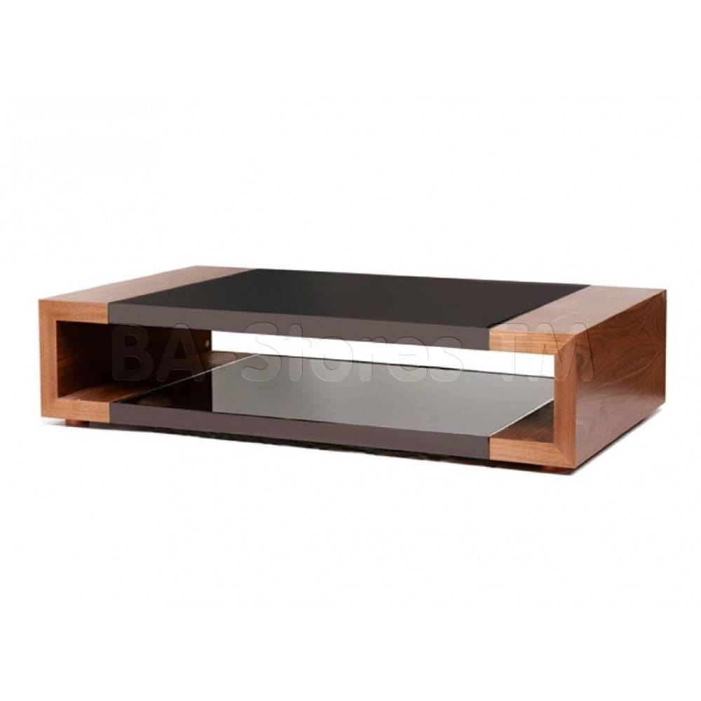 $537.00 Flex Storage Coffee Table With Black Glass Insert D2D throughout Black Glass Coffee Tables (Image 1 of 30)